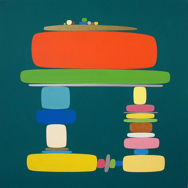 Soonae Tark, 'In Green 03-1 ', 2003, Susan Eley Fine Art