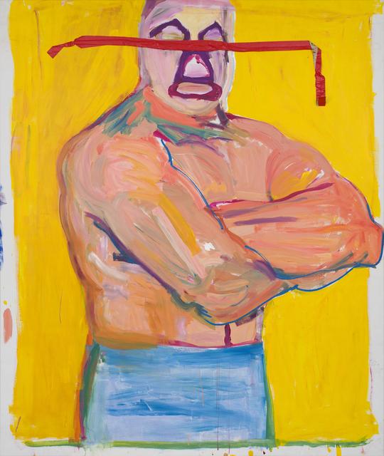 , 'Mil (Mil Mascaras /The Wrestler),' 1984, CFHILL