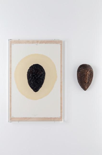, 'd'après masque Lega Zaïre,' 2014, Galerie Nathalie Obadia