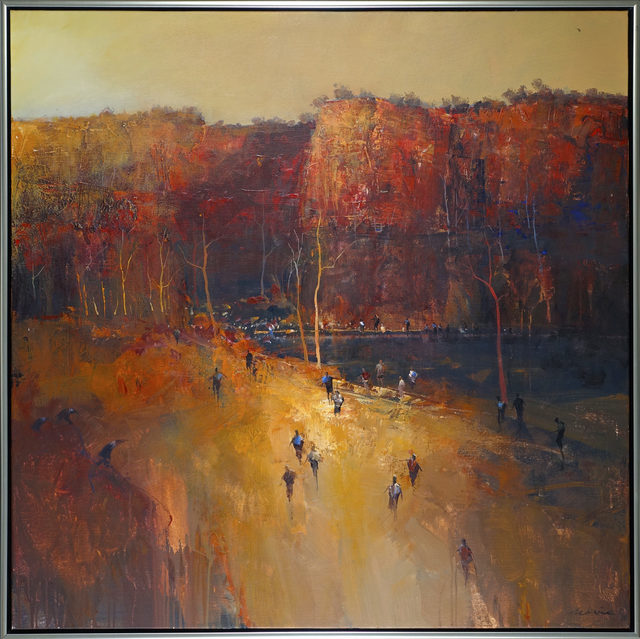 , 'Gathering at the Gorge,' 2018, Wentworth Galleries