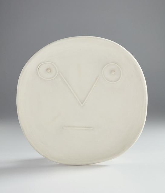 Pablo Picasso, 'Geometric face with lines (Visage géométrique aux traits)', 1956, Phillips