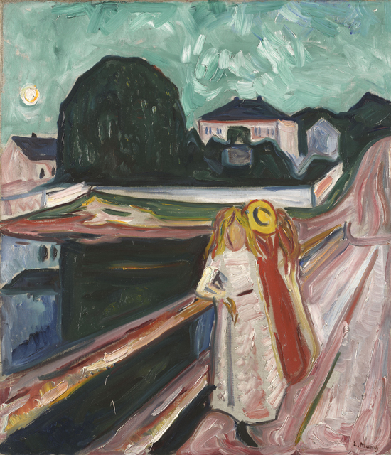 , 'Girls on a Pier,' ca. 1904, Museo Thyssen-Bornemisza