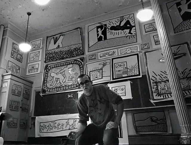 Keith Haring, 'Vintage Keith Haring photograph New York, 1980', 1980, Lot 180