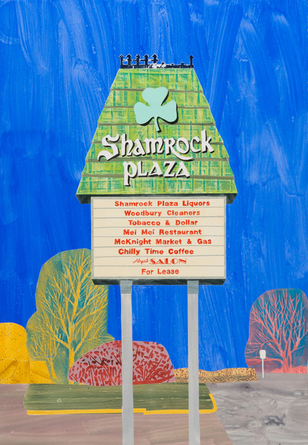 , 'Shamrock Plaza, St. Paul,' 2017, Highpoint Editions