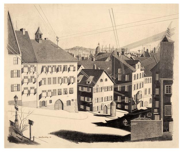 , 'Nürnberg, Straße Ölberg,' 1926, Galerie Michael Hasenclever KG