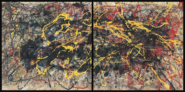 Bill Alpert, 'ALP 056 (diptych)', ca. 1970, Lawrence Fine Art