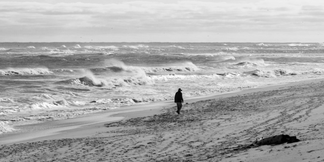 , 'The Atlantic With Figure,' 2017, Soho Photo Gallery