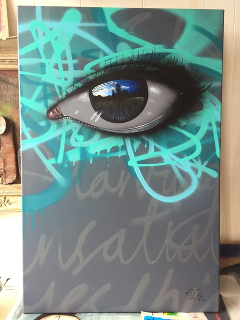 My Dog Sighs, 'This is incredible, starving, Insatiable. (Yes this is love for the first time)', 2016, Vertical Gallery