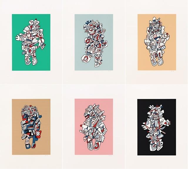 , 'Presences Fugues: a Portfolio,' 1973, Nikola Rukaj Gallery
