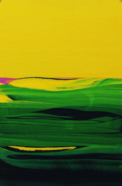 , 'Around color CM 15,' 2014, Galería La Caja Negra