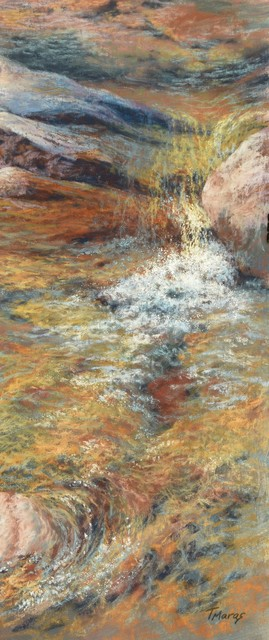 , 'Liquid Gold II,' 2018, Springfield Art Association