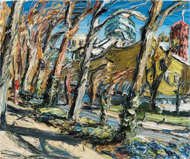 , 'Philharmonie durch Bäume,' 2017, Galerie Kornfeld