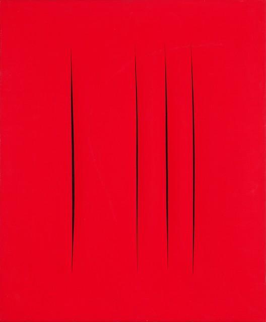 , 'Concetto Spaziale, Attese,' 1965-1966, CFHILL