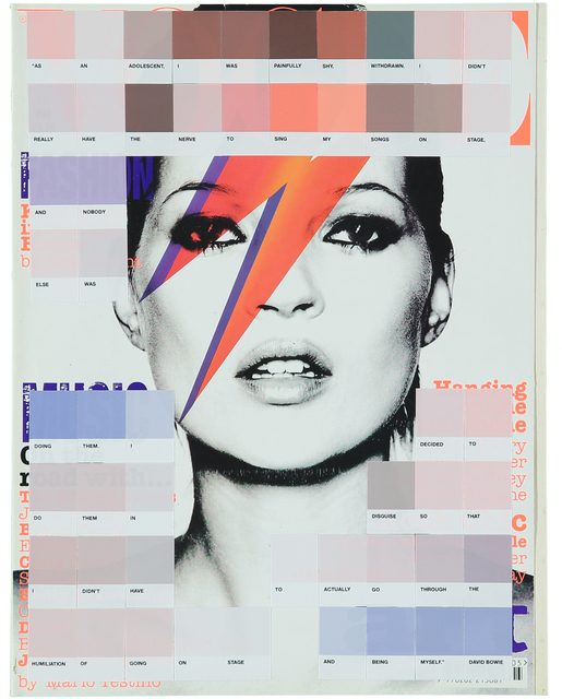 , 'Kate Moss, Vogue 2003,' 2017, Lawrence Alkin Gallery