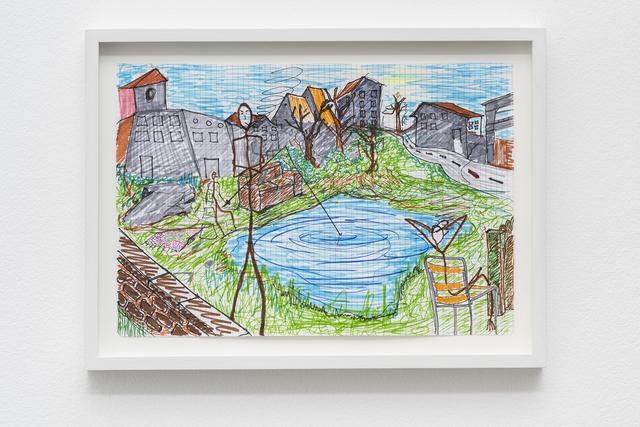 , 'Fishing,' 2017, Pilar Corrias Gallery