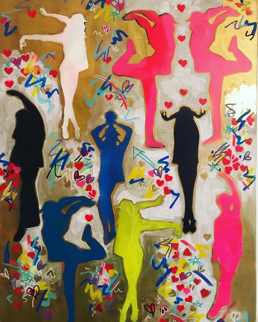 , 'Choose Love,' 2017, Flat Space Art