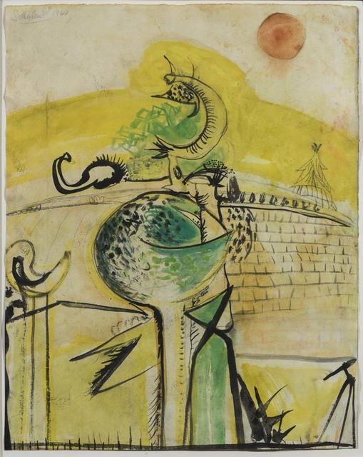 , 'Homage to Picasso,' 1948, Osborne Samuel