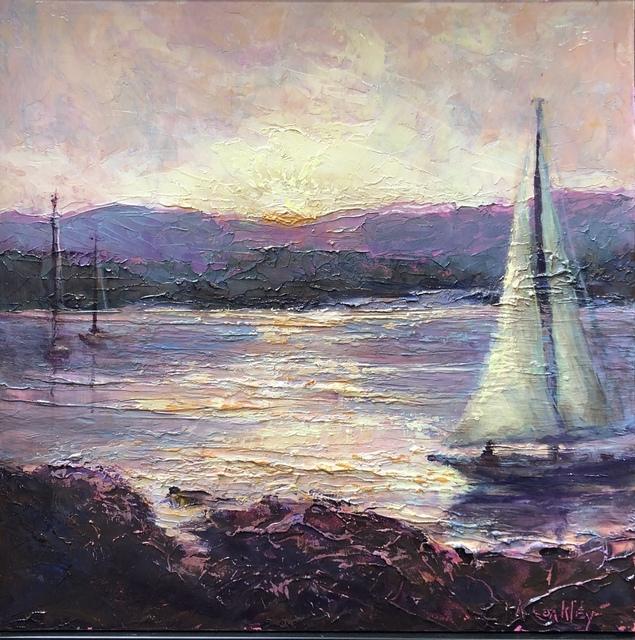 , 'Lavender Sunset,' , Copley Society of Art