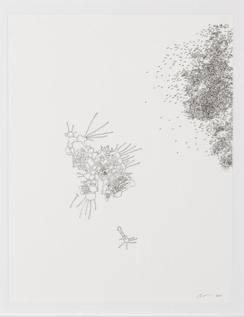 , 'Architectural Pollination Study 18,' 2010, InLiquid