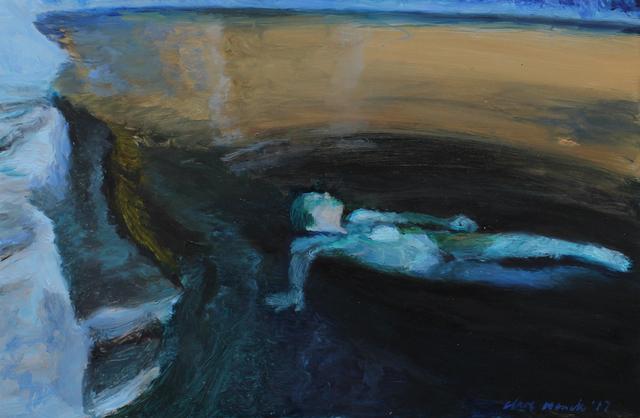 , 'Immersed in a Night Pool,' 2017, 99 Loop Gallery