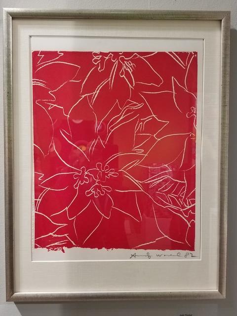 , 'Poinsettias,' 1982, Chowaiki & Co.