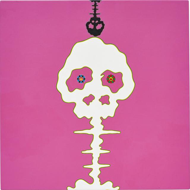 Takashi Murakami, 'Dokuro pink', 2001, Phillips