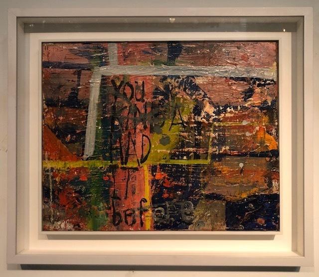 , 'You Kinda Had It Before,' 2018, AB Gallery NY