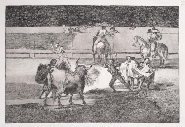 , 'Banderillas de fuego (1st edition),' 1816, R. S. Johnson Fine Art