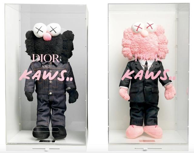 KAWS, 'Plush BFF x Dior (Black and Pink)', 2019, Hang-Up Gallery