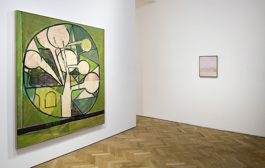 Matthew Burrows, Green Tree, 2015 and St Lucy, 2016