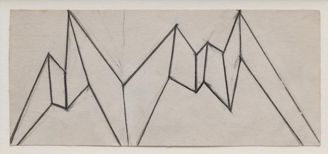 , 'Boceto para Relieve citadino (Modelo para mural Torre Camerún),' 1985, Galería La Caja Negra