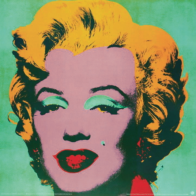 Andy Warhol, 'Marilyn Green (sm)', 1999, Ephemera or Merchandise, Offset Lithograph, ArtWise