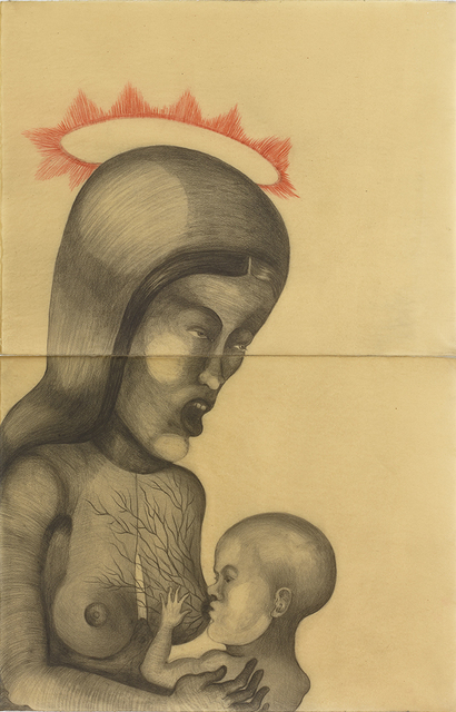 , 'Virgen Dolorosa,' 2017, Galeria Senda