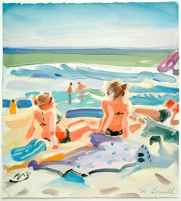, 'Beach Ladies,' 21st Century, George Billis Gallery