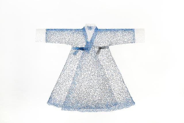 , 'Greetings in Blue,' 2019, Callan Contemporary