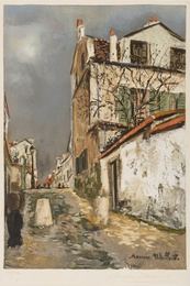 After Maurice Utrillo, 'Rue de Village,' , Forum Auctions: Editions and Works on Paper (March 2017)