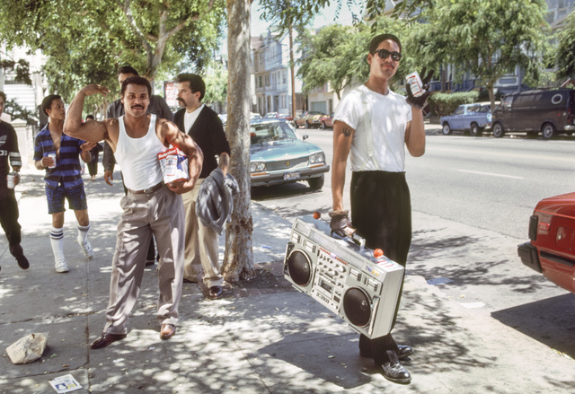 , 'Young Men with Beer and Music, 1986,' 2018, EUQINOM Gallery