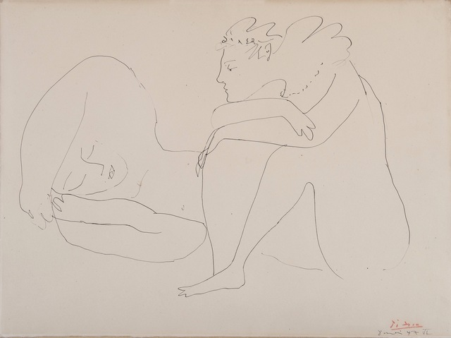 , 'Le repos,' 1947, HELENE BAILLY GALLERY