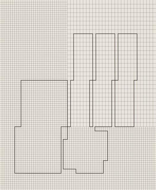, '10 daten-distributionen von koordination p3-26-1973-77, 3rd distribution,' 1977, VILTIN Gallery
