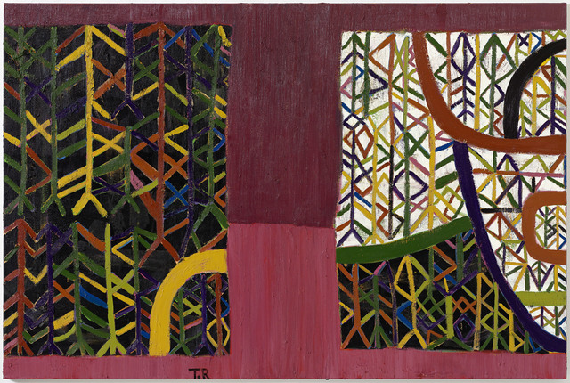 Tal R, 'Pink Road Through Forest (late December)', 2018, VNH Gallery