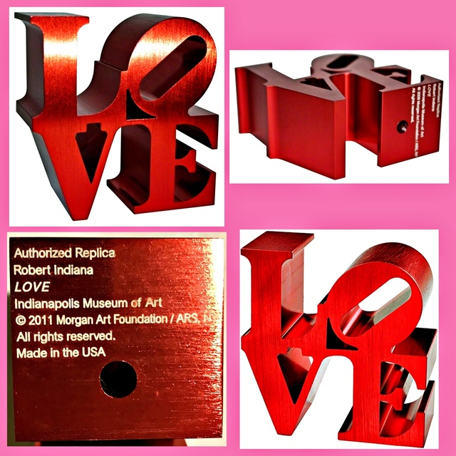 , 'LOVE (Limited Edition Artist Authorized, with Incised Indianapolis Museum of Art & Morgan Foundation Stamp and Artist Copyright),' 2011, Alpha 137 Gallery