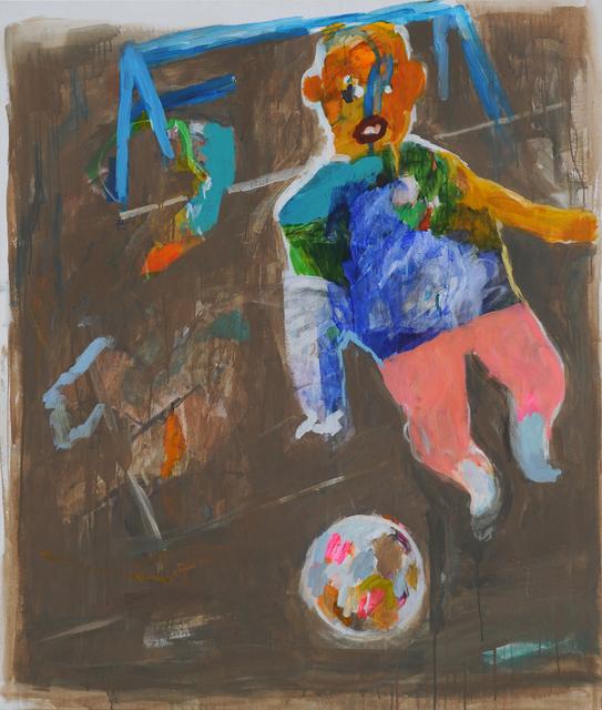 Yaser Safi, 'Goal Keeper', 2014, Mark Hachem Gallery