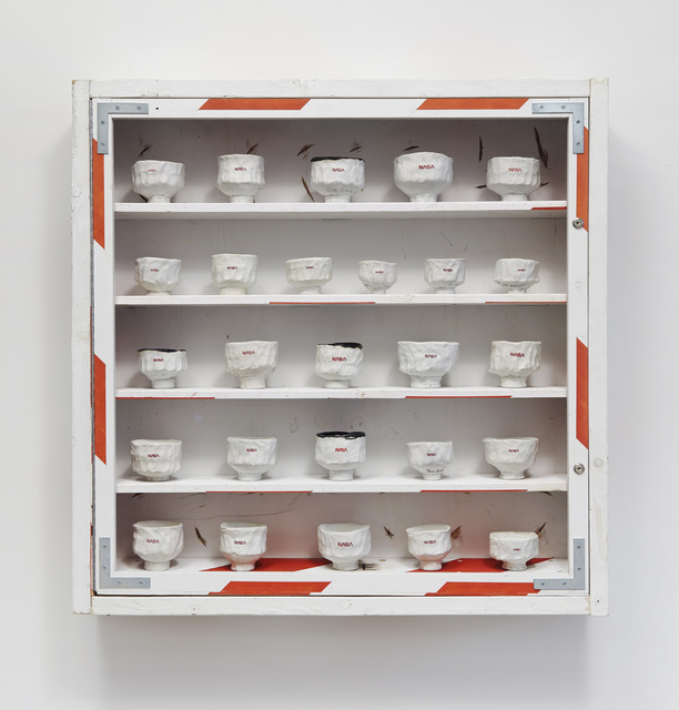 , 'Chawan Cabinet,' 2018, Jane Hartsook Gallery