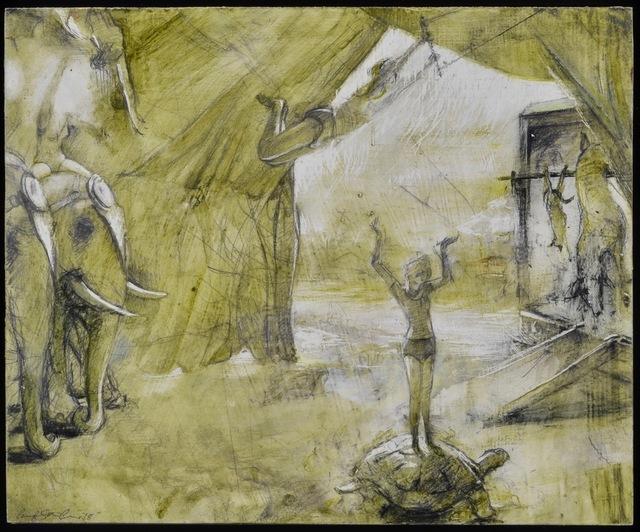 , 'Blondine's Arrival,' 2018, Alpha Gallery