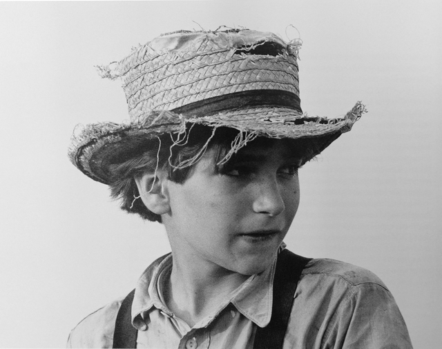 George Tice, 'Amish Boy with Straw Hat, Lancaster, PA', 1965, Gallery 270