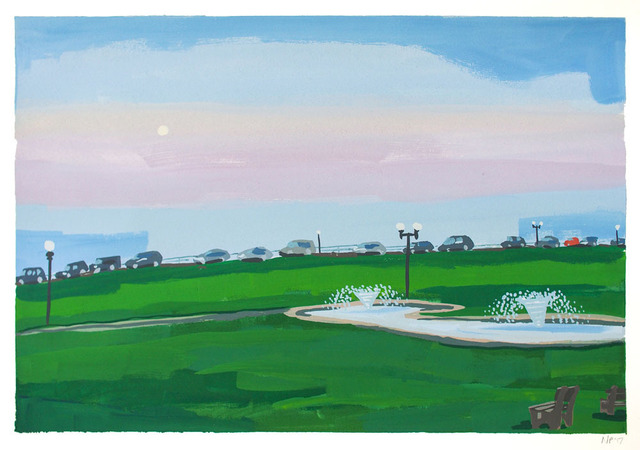 , 'Ocean Park II,' 2018, Wally Workman Gallery