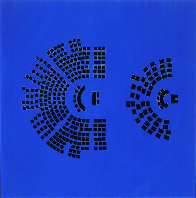, 'Nocturnes (Congressional Seats),' 2002, Sperone Westwater