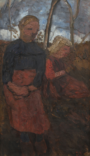 , 'Two Girls Sitting in Landscape,' 1905, Galerie St. Etienne