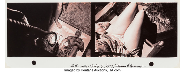 Thomas Barrow, 'In the Valley of J.G.G.', 1973, Heritage Auctions