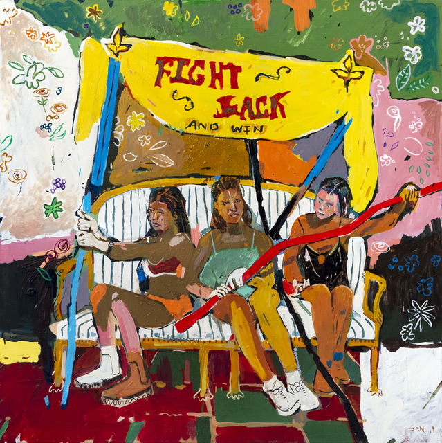 , 'Fight back and win ,' 2019, 99 Loop Gallery
